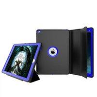 schutzhüllen für ipad minis großhandel-360 Grad-voller Körper-schützender stoßsicherer hybrider harter Hochleistungsfall-Schutzhülle für iPad 2 3 4 6 7 Pro 9.7 Mini Mini4