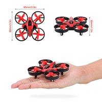 Wholesale Mini Rc Quadcopter - New Original NIHUI NH-010 2.4G 4CH 6-Axis Gyro RC Quadcopter RTF UFO Mini Drone with 3D-Flip Headless Mode with extra Batteries