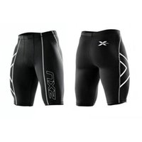 pantalon de compression masculin achat en gros de-Nouveau style Vêtements Mâle Compression Collants Shorts Bermudes Masculina Hommes sport jogging Court Pantalon livraison gratuite