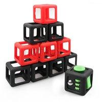 Wholesale Dice Funny - Fidget Dice Vinyl Desk Cube Toy Protective Cove Anti Irritability Magic Funny Children Gifts #4262