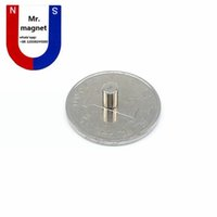 Wholesale Magnets 8mm - 200pcs Hot sale small disc 4x8 4*8mm permanent magnet D4x8mm rare earth magnet 4mm x 8mm 4*8 neodymium magnet NdFeb 4x8mm free shipping