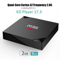 Wholesale Ddr 2g - M9S Android OTT TV Box 2G DDR 8G Flash Android 6.0 KD 17.3 RK3229 Smart TV Box 4K WiFi 3D Movies