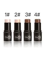 Wholesale Highlight Bar - Special Design Makeup 3D Highlight Bar Makeup Stick Four Color Options Silver Gold Coffee Brown Velvet Contour Stick 60g