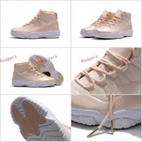 Wholesale Rice Boxes - Retro 11 Maroon Rice White Beach Basketball Shoes Free Shipping Hot Sale Athletics Sneakers Size 7-13