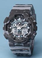 6c7ce9ac99acc8 Ingrosso casio digital watch in vendita - nuovi uomini ga100 sport ha  portato gli orologi LED