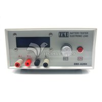 Wholesale Power Multimeter - Freeshipping EBD-A20H Multifunction Electronic Load Power Battery Capacity Tester Resistance Multimeter Support 20A Discharge