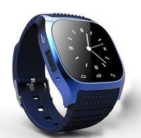 Wholesale Sansumg Phones - 2017 M26 Montre Bluetooth Smart Watch For Huawei Sansumg Apple Smartphones With Hebrew Korean Hands-Free Calls Wearable