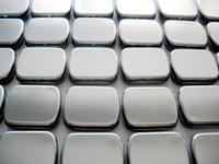 Wholesale Hinge Types - Wholesale- Free Shipping 10 X Zakka Silver Tin Storage Box Metal Hinge Box Organizer Case Casket Novelty Households Wedding Candy Box