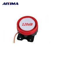Wholesale Passive Buzzer - Wholesale- AIYIMA 2PCS HNR-BJ Large Volume Dedicated The Security Alarm Speaker Passive High Decibel Buzzer