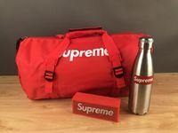 Wholesale Canvas Bucket - Brand bag Big capacity Bucket backpack Travel Shoulder backpack canvas Unisex Street