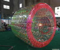 water ball rollers 2018 - Free Shipping 2.2m 0.8mm PVC Inflatable Water Ball Price Water Roller Inflatable Hamster Ball