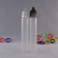 Wholesale Cheap Vapor Pens - Pe pen shape plastic bottle 30ml soft squeeze unicorn eye dropper bottle for eliquid vapor oil cheap plastic dropper bottle