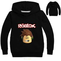 Wholesale Tshirt Jacket - 2017 Tshirt ROBLOX Boys Clothes Children Tee Shirt Enfant Garcon Long Sleeve T Shirt Hoodies Sweatshirt Clothing
