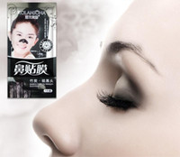 Wholesale Nose Pore Suction - Bamboo Charcoal Mask Pig Nose Pad Suction Blackmask Face Black Head Remove acne Pores Beauty Skin Care Deep Cleansing Face Masks