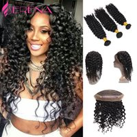 Wholesale Rosa Hair Products - 360 Lace Frontal With Bundle Deep Wave Malaysian Virgin Hair With Closure Hot 360 frontal with bundles Rosa Beauty Hair Products