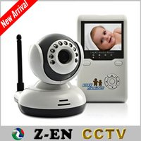 """Wholesale One Camera Monitors - 2.4""""TFT Wireless Digital Baby Monitor IR Video Talk one Camera Night Vision Video Electronic Baby Monitors Home Security"""