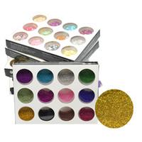 Wholesale 12 nail powder online - Nail Glitter Powder Dust Color D Nail Art Decorations Professional Nails Art Bottle Tips Set Kit DIY Tool