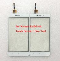 Wholesale Xiaomi Hongmi Cover - Redmi 4A Outer Glass Cover Replacement for Xiaomi Redmi 4A touchscreen Outer Screen Glass for Xiaomi Hongmi 4A Touch Screen