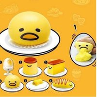 Wholesale Vomiting Sucking Gudetama Lazy Egg Vent Stress Relief Toys Size Color Yellow
