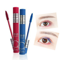 Wholesale Eyes Bobs - BOB True Colors Charming Colored Mascara Waterproof Curl Colorful Mascaras Professional High Quality Cosplay Makeup for Eyes