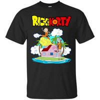 Wholesale Cheap Casual Men Shirts - Casual Mens Rick and Morty Holidays T-Shirt 2017 new High Quality 100% Cotton men's T Shirt cheap sell Free shipping