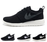 Wholesale Portable Pu - 2017 wholesale Original Run Running Shoes Men Womens Outdoor shoes black white Breathable portable sport Sneakers casual shoes US 5.5-11