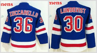 Wholesale Ladies Jerseys Cheap - Women's New York Rangers Hockey Jerseys 30 Henrik Lundqvist 36 Mats Zuccarello Team Color Ladies NY Rangers Stitched Jersey Cheap