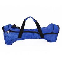 el çantası örtüleri toptan satış-2 tekerlek öz dengeleme el çantası naylon kumaş e scooter unicycle taşıma kılıfı kapak su geçirmez kılıfı çanta için 6.5 inç 8 inç 10 inç DHL