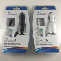 Wholesale Car Charger Adapter White - 5V 2A Micro USB 3.0 Retractable Car Charger Cable LED Auto Power Charging Adapter for Samsung Note5 Note4 Note3 S5 S7 S6 6s 6G 5G 4G