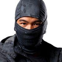Wholesale Balaclava Army Black - Rattlesnake Camouflage Tactical Headwear Face Ski Balaclava Ninja Mask Motorcycle Hunting Skiing Cycling Full Hood