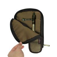 Wholesale Bolt Holders - Hunting Shooting Accessories Tourbon Canvas Rifle Bolt Holder Waist Belt pouch Gun Bolt Carrier