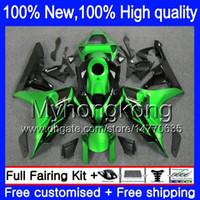 Wholesale Green Black Cbr - Body Green black Bodywork For HONDA CBR1000RR 06-07 CBR1000 RR 39MY12 CBR 1000RR 1000 RR 06 07 2006 2007 Injection Fairing kit Green blk