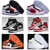 Wholesale Embroidered Tops For Women - New Arrival air 1 Retro one Basketball Shoes For Men women Top Quality Athletic boost Air retro 1 shoes outdoor shoes free shipping