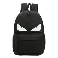 Wholesale Eye Backpack - Oxford Backpack Monster Eyes glow at night Backpack backpack bag school backpack Oxford backpack little monster backpack bag