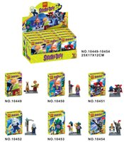 Wholesale Wholesale Scooby Doo - 2017 Hot Bela 10449-10454 Scooby Doo Minifigures Shaggy Vampire Daphne 6pcs lot Building Blocks Sets Models Figures Toys