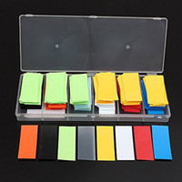 Wholesale 280pcs Color Dia MM MM Flat PVC Heat Shrink Tubing Tube Sleeving Wrap for Li ion Battery