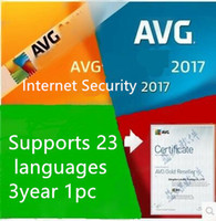 AVG Internet Security 2017 AVG antivirus Software de seguridad de Internet para 3 años de duración