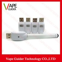 Wholesale Electronic Cigarette Usb Charger Color - O-Pen Battery Charger Wireless eGo USB Charger Electronic Cigarette charger adapter for all ego 510 thread battery White Color
