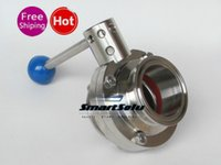 Wholesale Ferrule Clamp - 1.5'' diameter 38 butterfly Valve, outer diamater(ferrule OD) 50.5mm, fits 1.5'' tri clamp, made from stainless steel 304.