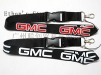 Wholesale NEW hot sale Cell Phone Straps Accessories car GMC black red black white lanyards Key chain neck holders ford ID collection