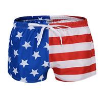 Wholesale mens swimming suits - Swimwear Beach Shorts Men Swimsuit Solid Sport Rashgard Men's Swimming Trunks Swim Suit Mens Briefs Boxers Male Beachwear F04
