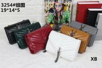 Wholesale Buckle Messenger Bags - Marmont crossbody shoulder bags embroidery bag pearl buckle flap messenger bags vintage luxury brands chain bag designer handbags 2017