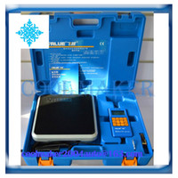 Wholesale Electronic Refrigerant Scale - Auto air conditioner system refrigerant filling electrons electronic scale Add fluoride tools