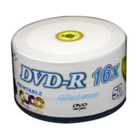 Wholesale Dvd R Wholesale - 2017 NEW Bananas can print DVD -r burn burn disc plate, blank CD 16x 4.7 GB 50PCS LOT