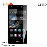 Wholesale Huawei Ascend P6 Case Cover - Wholesale-Tempered glass screen protector For huawei Ascend P9 P8 lite P8 P7 P6 protective film front cover case