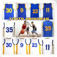 Wholesale Birthday Man - YOUTH KID Children Stitched Swingman Christmas Birthday Gift 30 35 9 11 Jersey Sport Wholesale Rugby