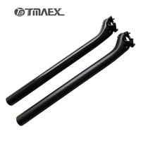 Wholesale Carbon Seatposts - No Logo Float back Carbon Seat post Carbon Road Bicycle Seatposts Mountain Bike Seat Post 27.2 30.8 31.6 3K Gloss Matte