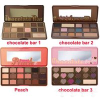 Wholesale Shadow Professional - in stock! Sweet Peach Makeup Eye Shadow Chocolate Bar Semi-sweet 16 Colors Professional Eyeshadow Palette free shipping