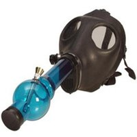 Wholesale Pipe Seals - Free Shipping Gas Mask Water Pipes - Sealed Acrylic Hookah Pipe - Bong - Filter Smoking Pipe