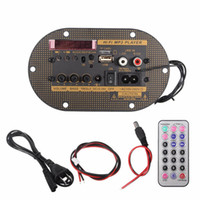 Freeshipping 220V 12V 24V Car Bluetooth Subwoofer Hi-Fi Bass Amplifier Board Audio TF USB Powerful Shocking